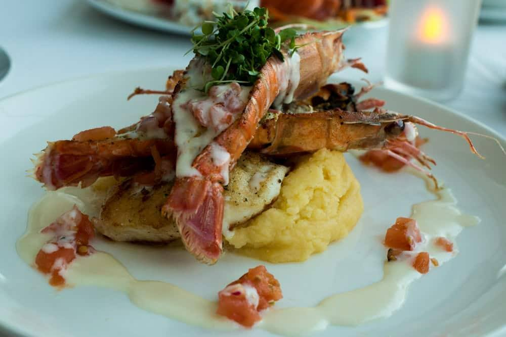 Where to Eat in Cape Town South Africa - A Cape Town Food Guide - Sevruga Stuffed Crayfish