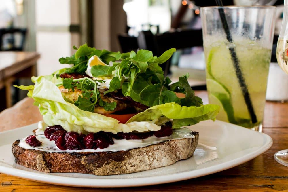 Where to Eat in Cape Town South Africa - A Cape Town Food Guide - The Sidewalk Cafe Sandwich