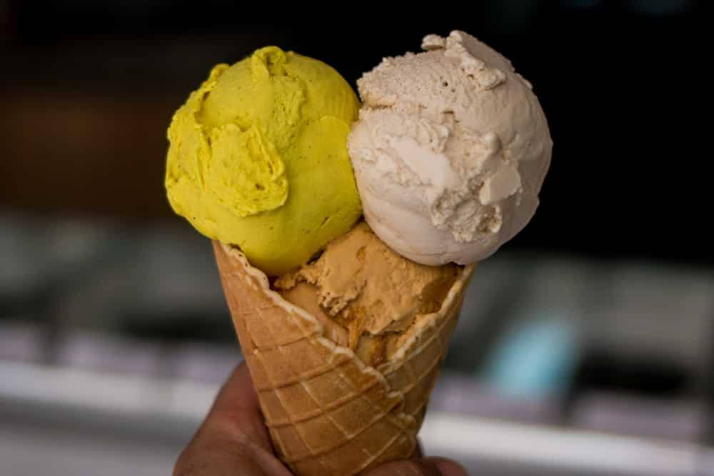Where to Eat in Cape Town South Africa - A Cape Town Food Guide - Unframed Ice Cream Triple Cone
