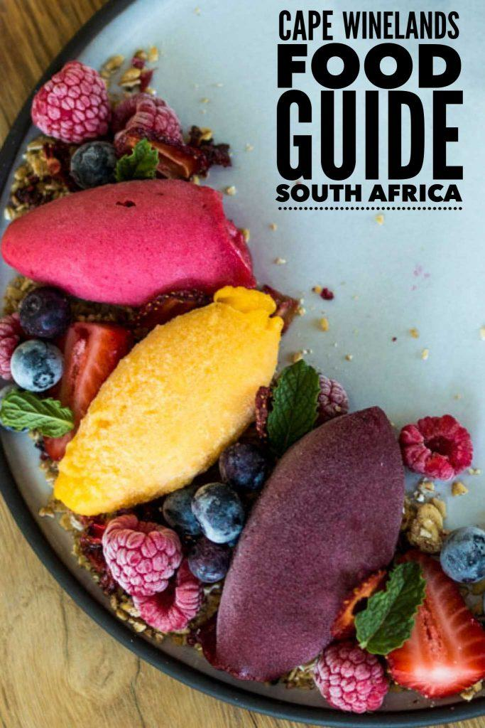 Best Restaurants in Stellenbosch and Beyond - A Cape Winelands Food Guide Pin 1