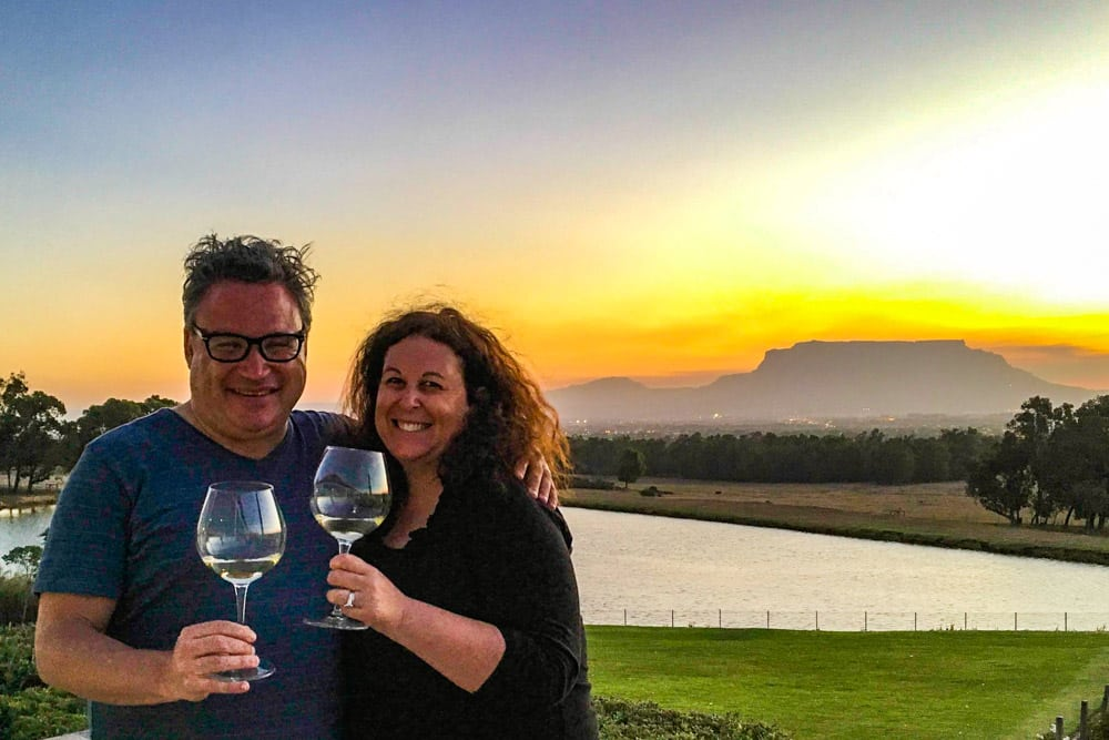 De Grendel Estate Sunset 2foodtrippers - Cape Town Day Trip to the Durbanville Wine Farms