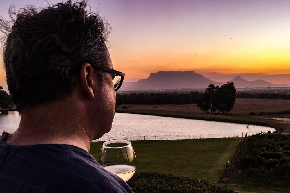 De Grendel Estate Sunset - Cape Town Day Trip to the Durbanville Wine Farms