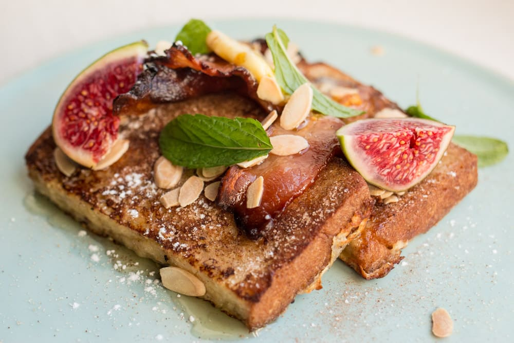 French Toast at Phizante Kraal in Durbanville South Africa