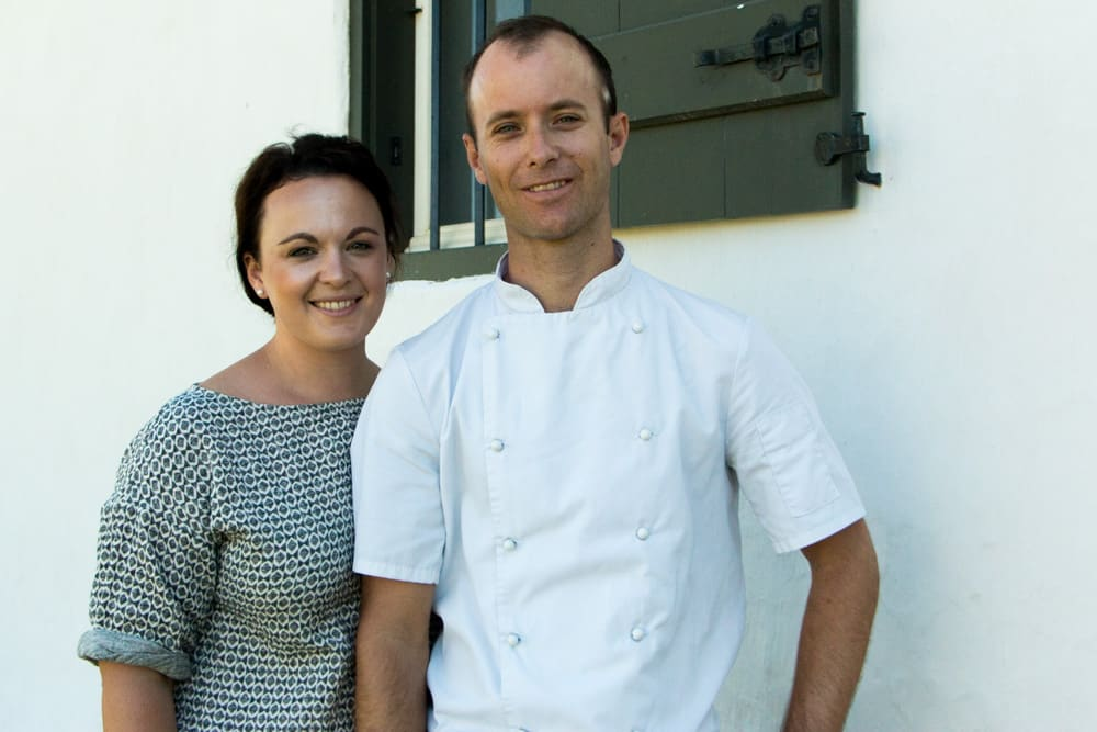 Maret and Juan van Deventer at Phizante Kraal in Durbanville South Africa