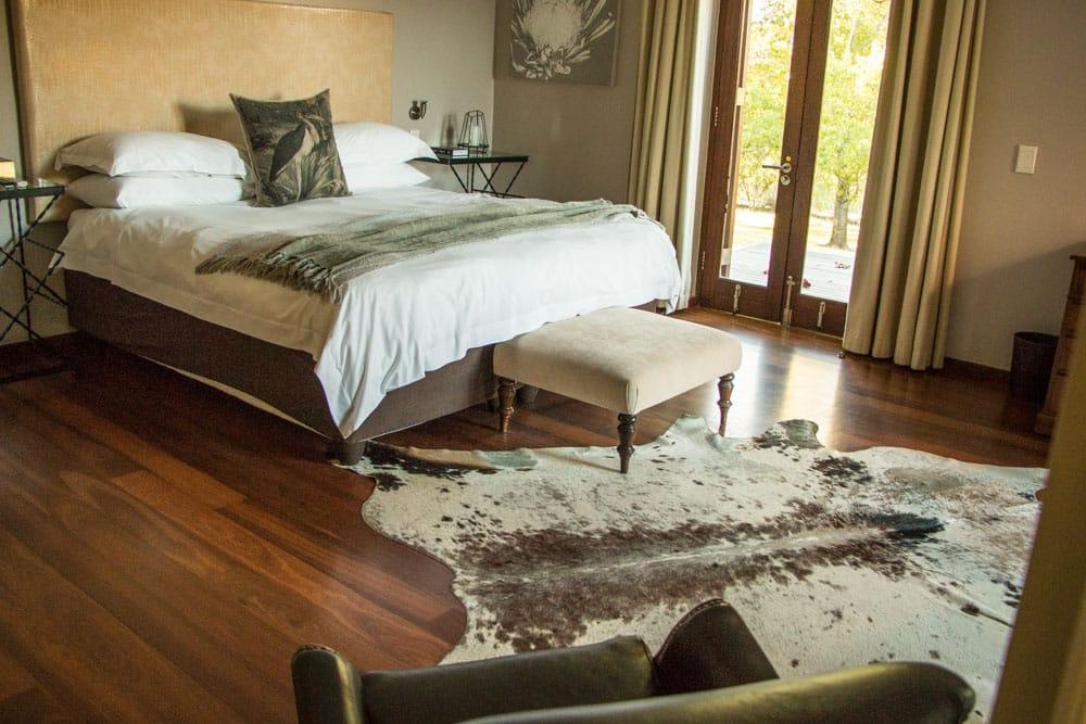 Room at L'Avenir Estate in Stellenbosch South Africa