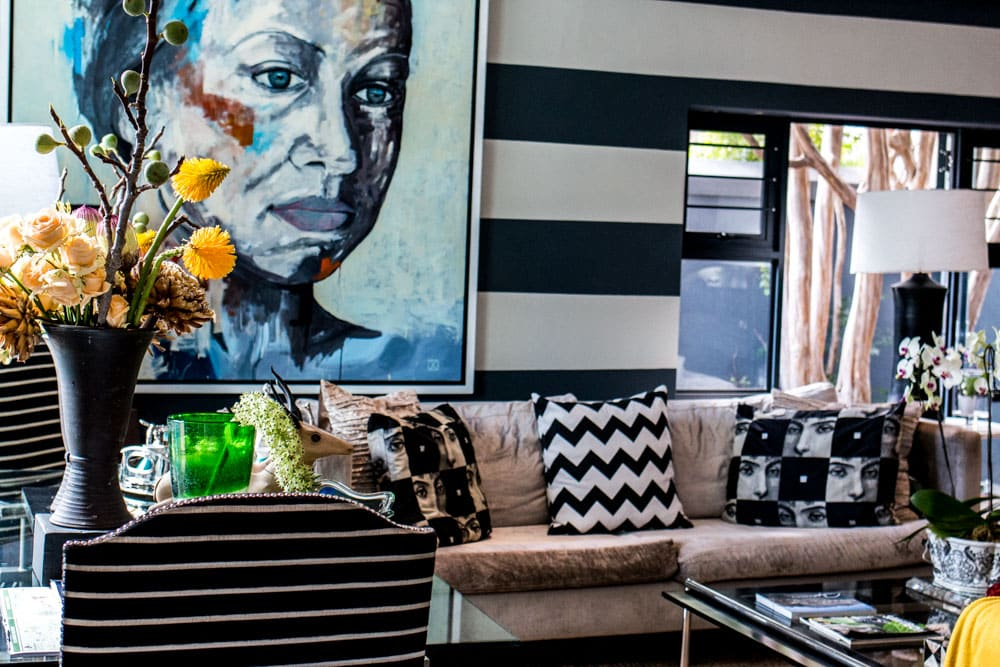 Lounge at Life & Leisure in Stellenbosch South Africa
