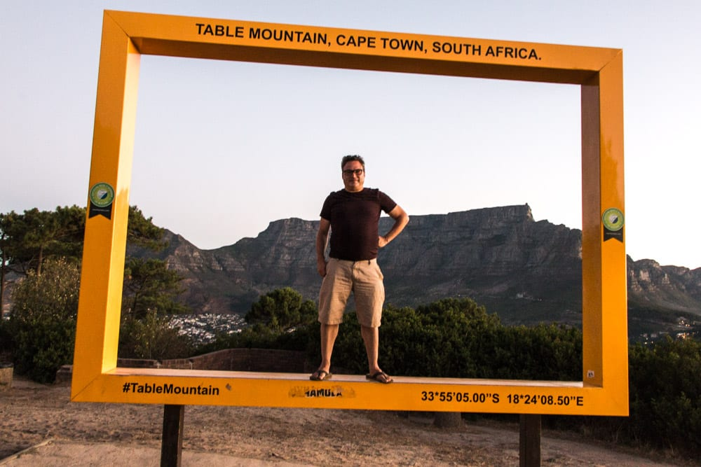 Cape Town Picture Frame in South Africa