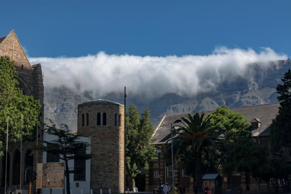 Table Mountain Mist in Cape Town South Africa