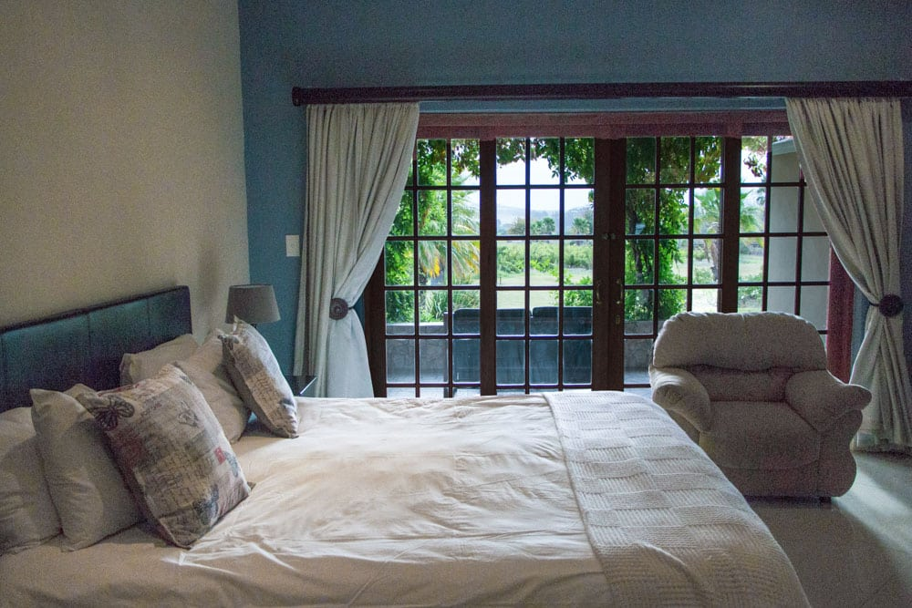 Hotel Room at The Country Guesthouse in Stellenbosch South Africa