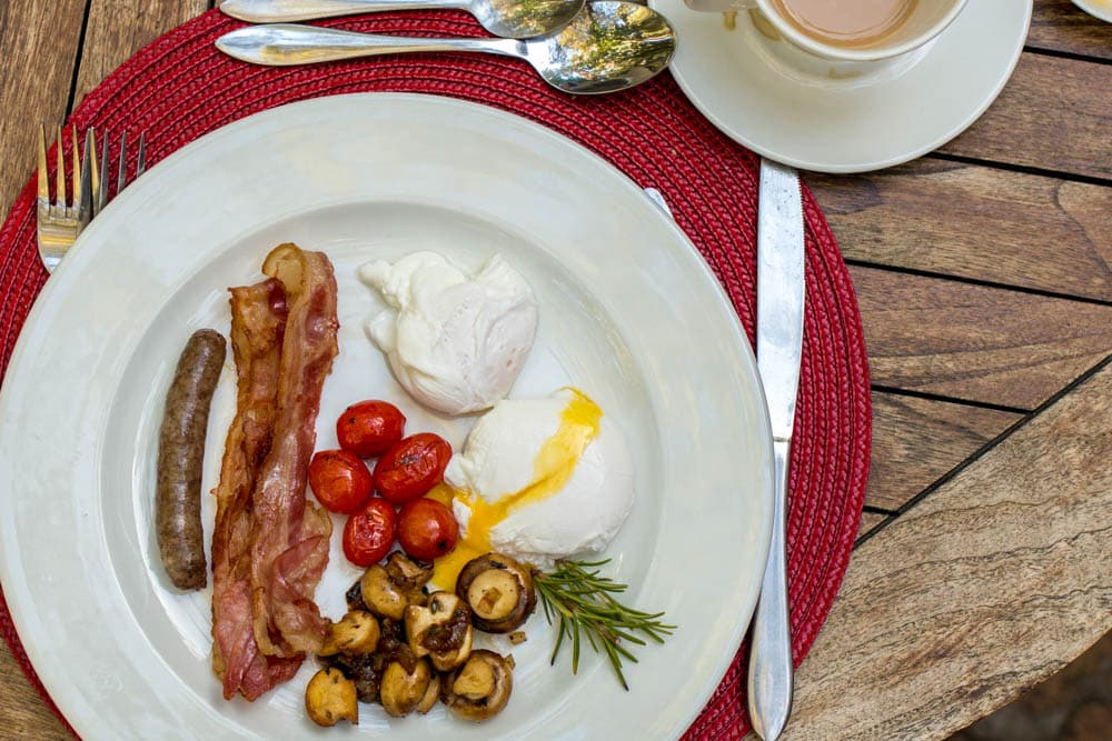 Breakfast at The Country Guesthouse in Stellenbosch South Africa