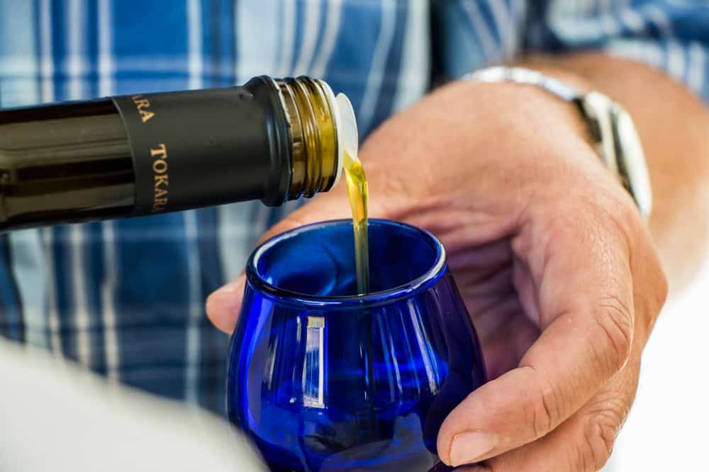 Olive Oil at Tokara in Stellenbosch South Africa