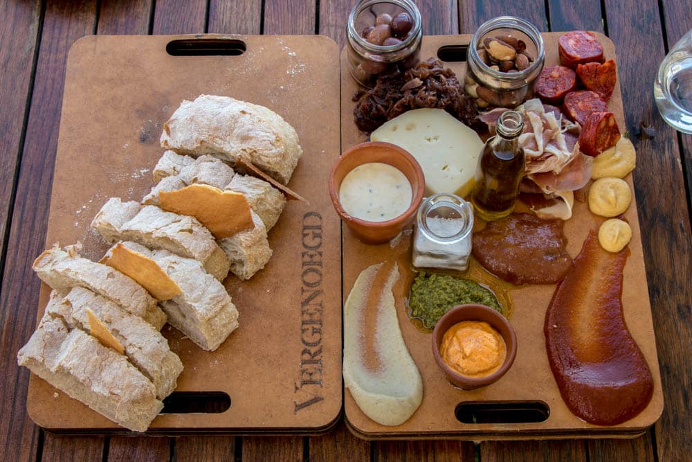 Food at Vergenoegd Wine Estate in Stellenbosch South Africa