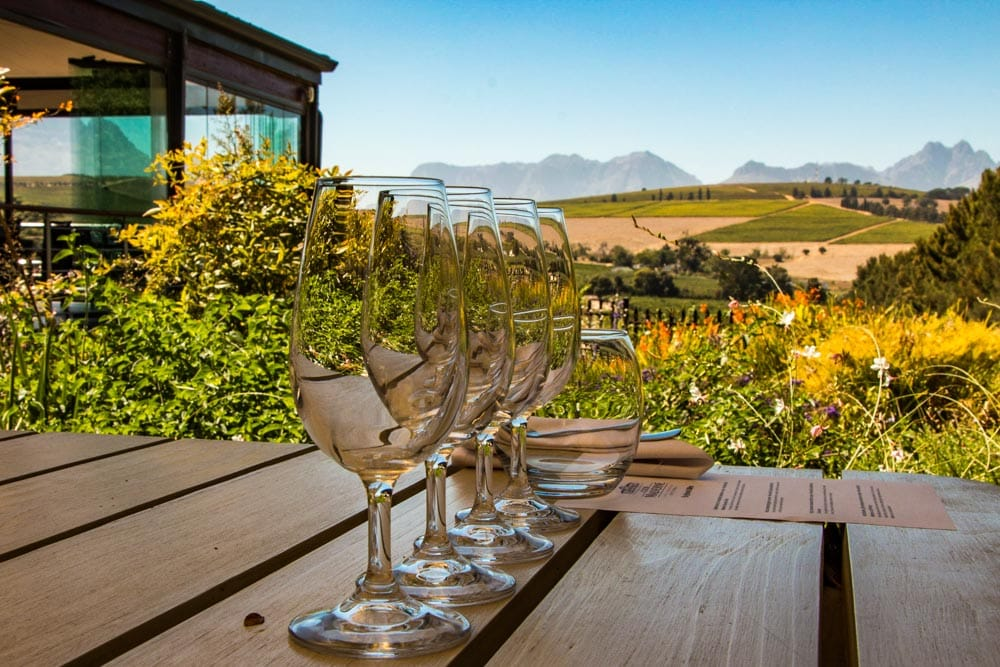 Clos Malverne Wine Farm in Stellenbosch South Africa