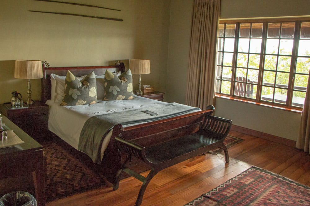Serengeti Room at Gwahumbe Game Lodge and Spa in South Africa