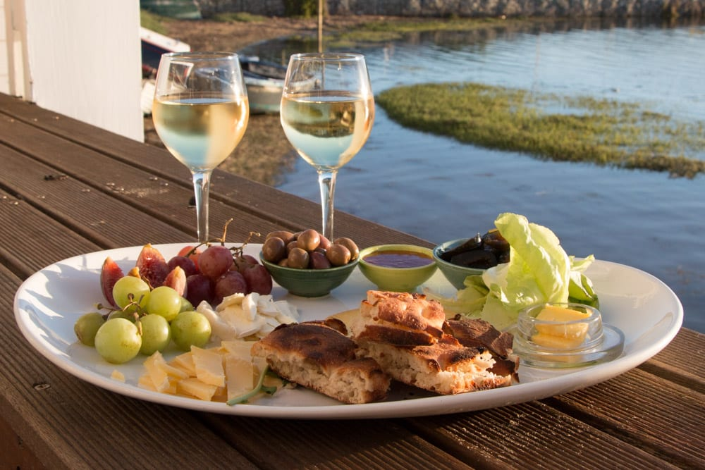 Sundowner Snacks at The Lofts Boutique Hotel on Thesen Island in Knysna South Africa