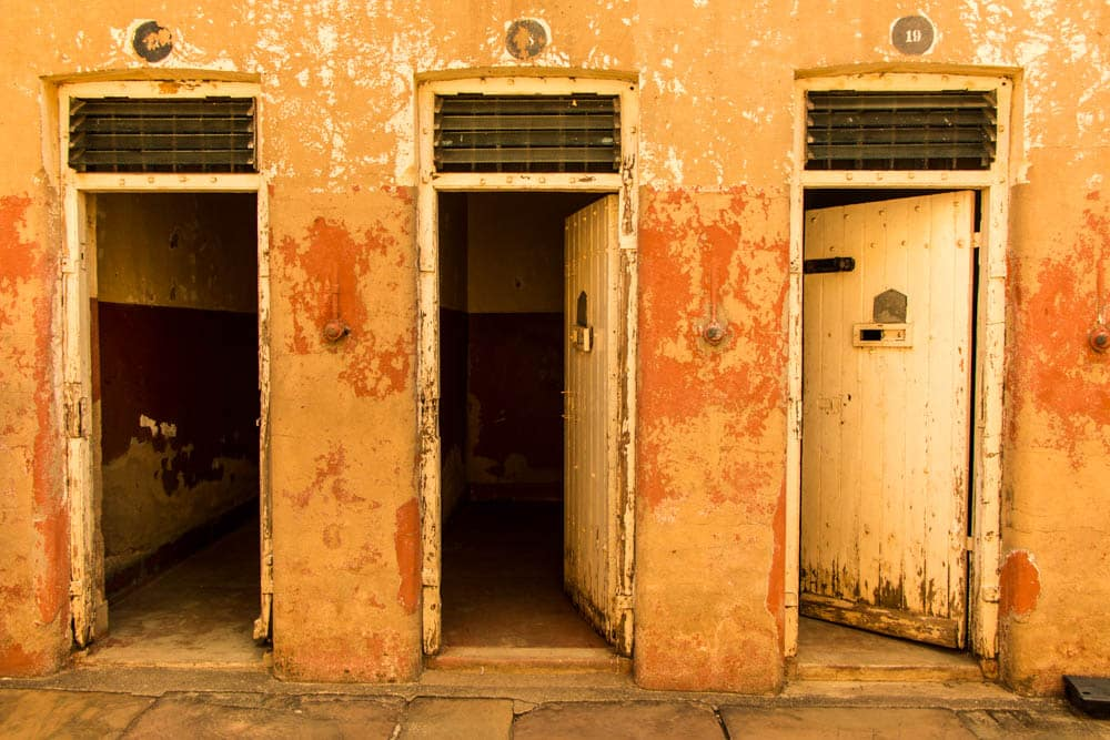 Constitution Hill Jail Cells in Johannesburg South Africa