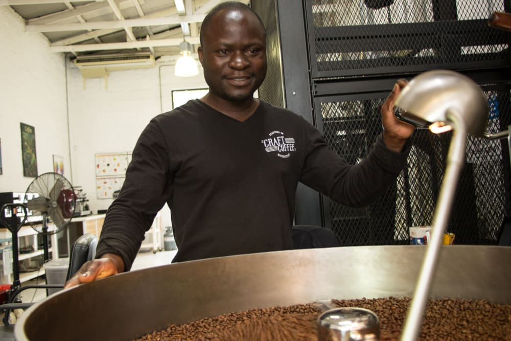 Craft Coffee Roaster in Johannesburg South Africa