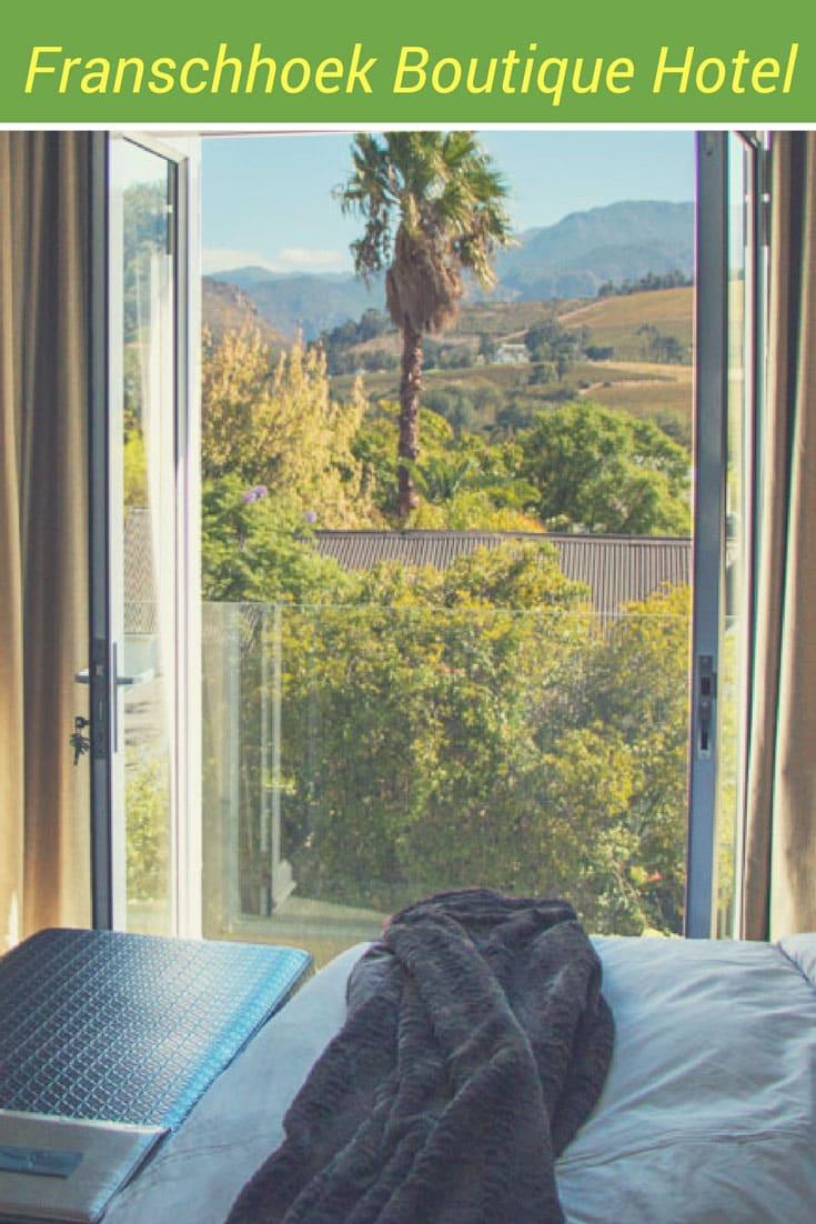 Franschhoek | South Africa | Cape Winelands | Franschhoek Boutique Hotel | Hotel Review | #Franschhoek #SouthAfrica #SouthAfricaTravel