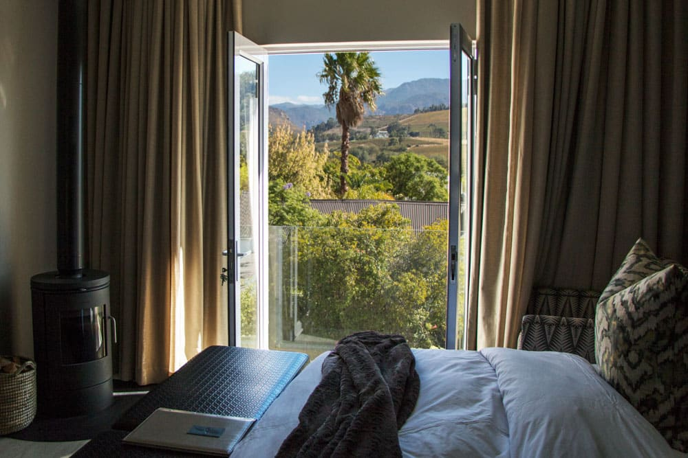 Franschhoek Boutique Hotel Room View