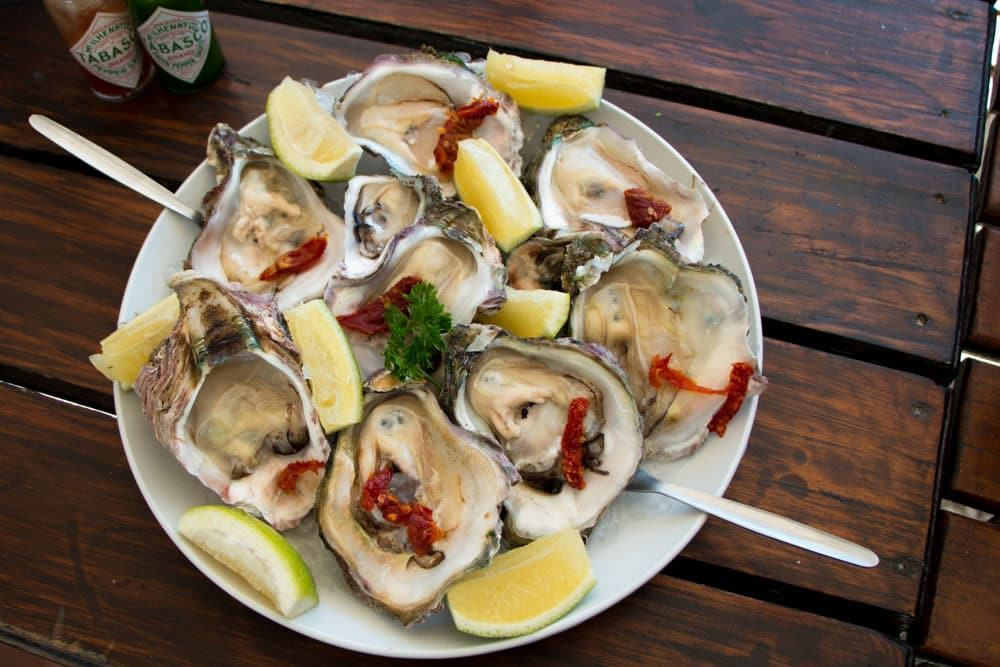 Freshline Fisheries Oysters in Knysna South Africa