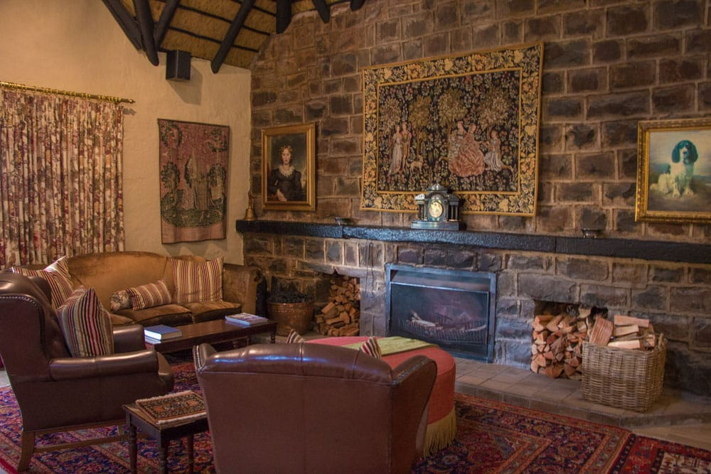 Lounge at Walkersons Hotel & Spa in South Africa