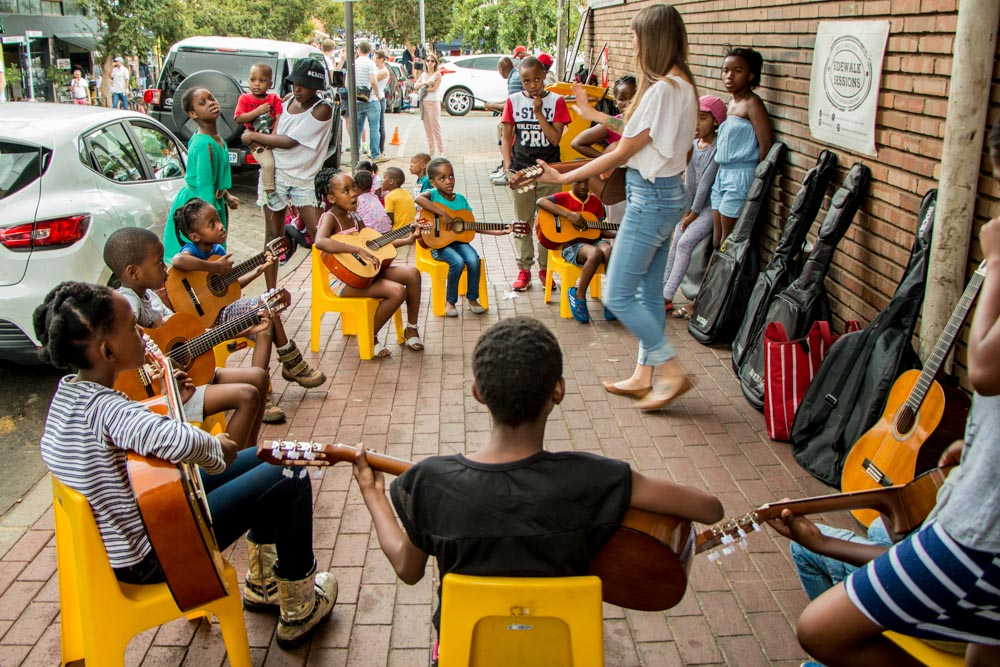 Maboneng Music Class in Johannesburg South Africa