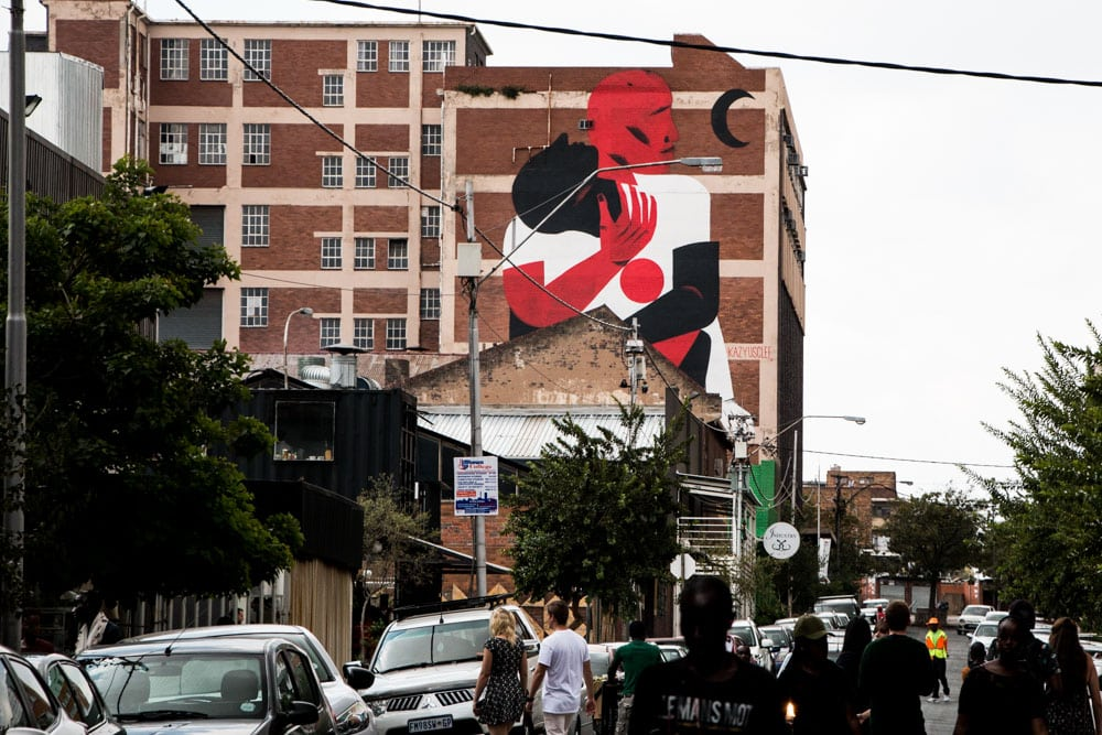 Maboneng Street Art in Johannesburg South Africa