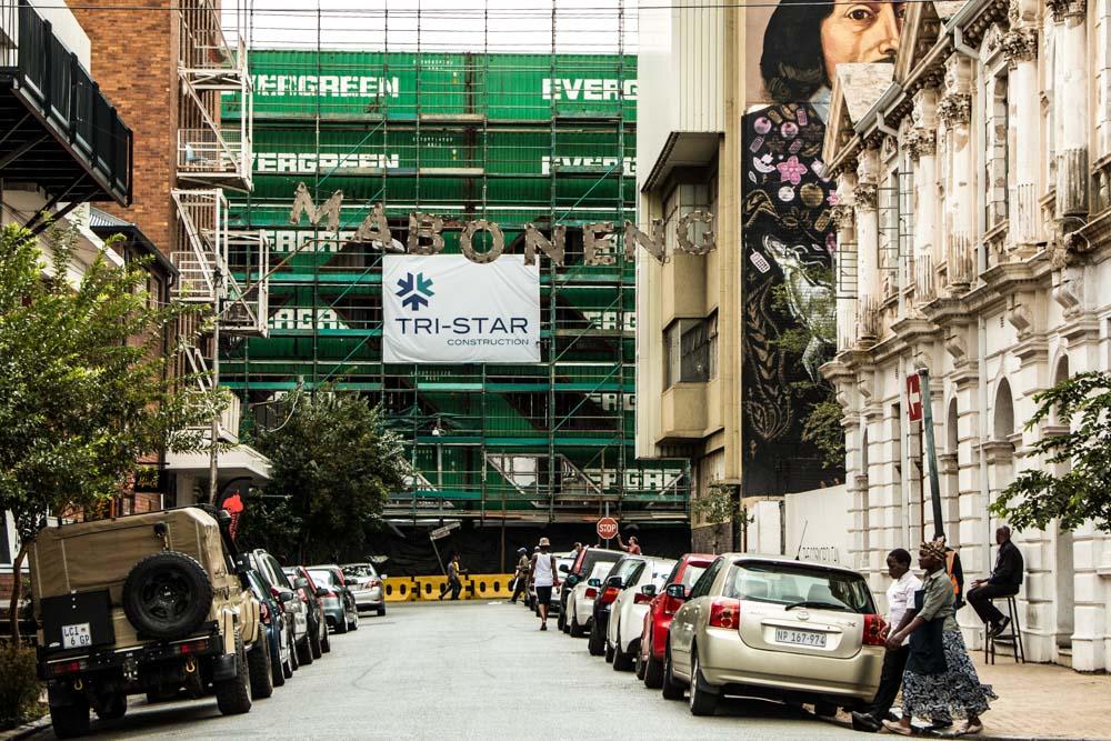 Maboneng Street Scene - Johannesburg South Africa Golden City