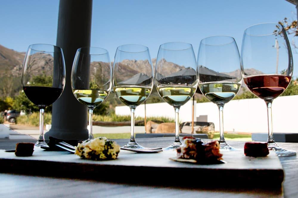 Wine Tasting at Maison Estate in Franschhoek South Africa