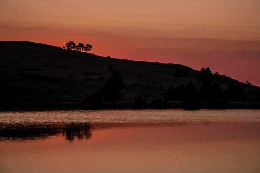 Orange Sunset at Walkersons Hotel & Spa in South Africa