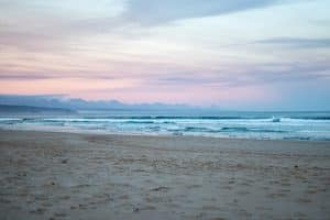 Dusk at a Plettenberg Bay Beach - Plettenberg Bay Beach - Our Favorite Stop on South Africa's Garden Route
