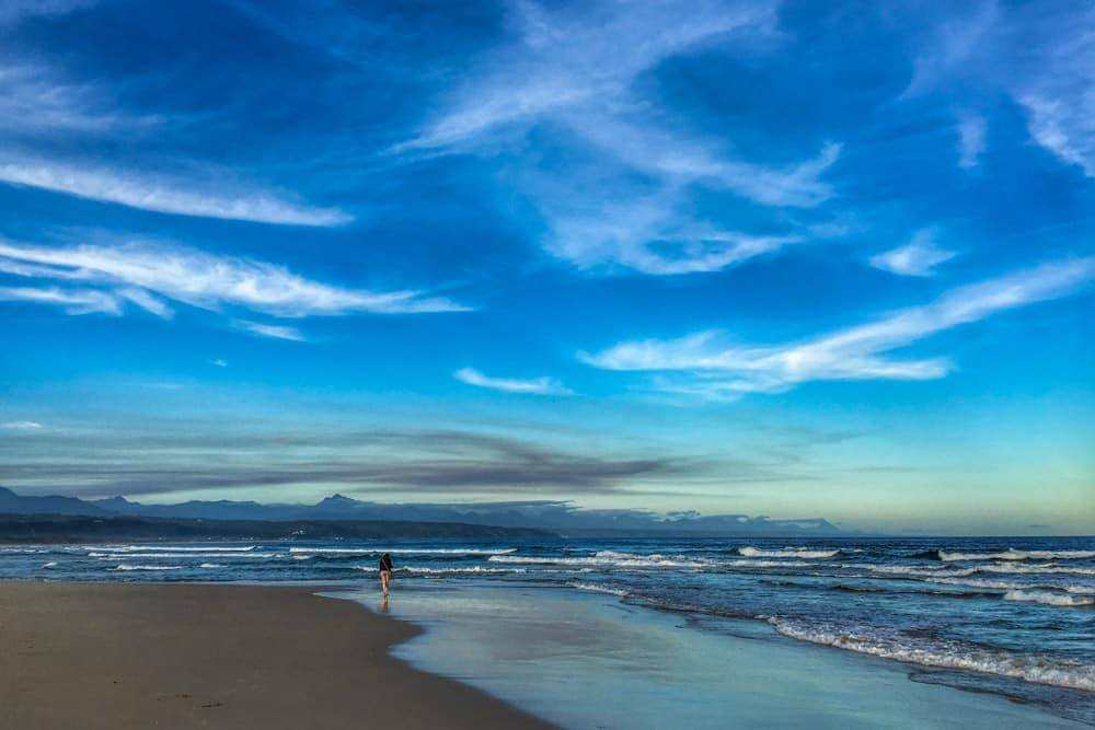 Plettenberg Bay Beach on the Garden Route in South Africa