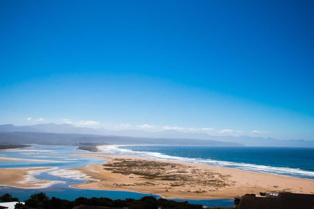 Plettenberg Bay Beach in South Africa