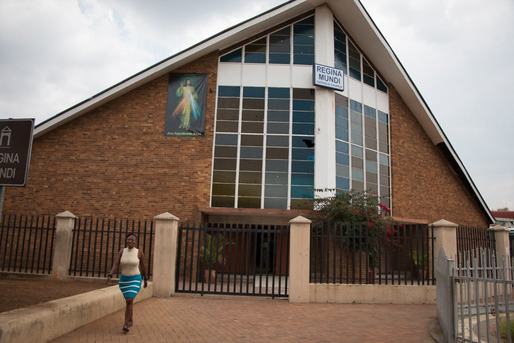 Regina Mundi Church in Johannesburg South Africa