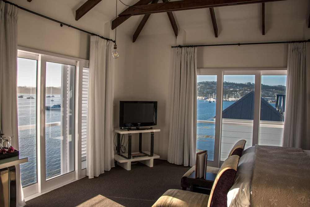 Room with a View at The Lofts Boutique Hotel on Thesen Island in Knysna South Africa