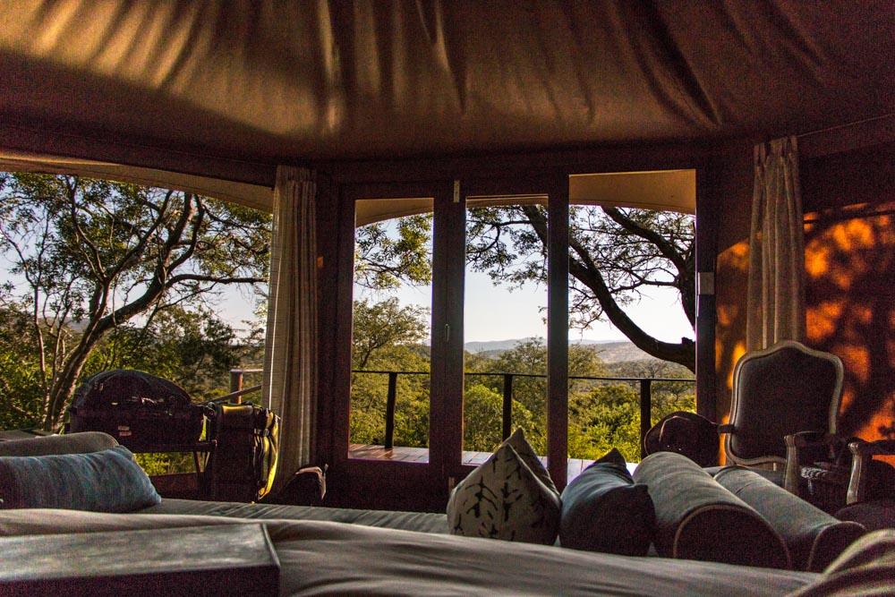 Tent with a View at Thanda Safari in South Africa
