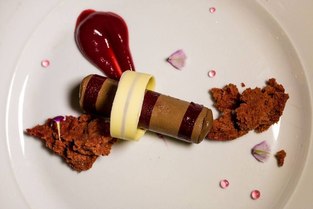 Dark Chocolate Semifreddo - Clico Boutique Hotel