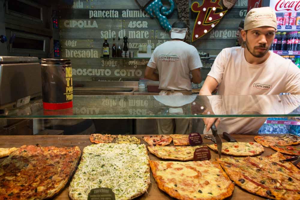 Latin Pizza in Bucharest Romania