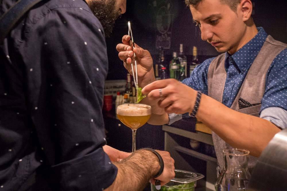 Origo Cocktail Bar in Bucharest Romania