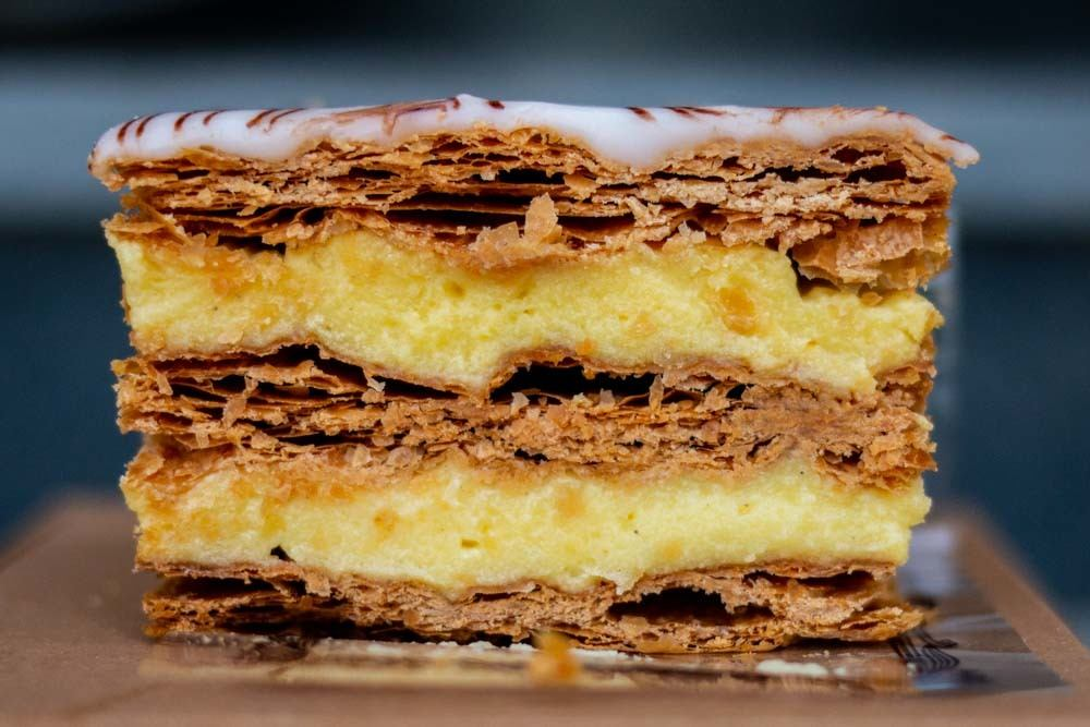 Mille-Feuille at Rue du Pain in Bucharest Romania