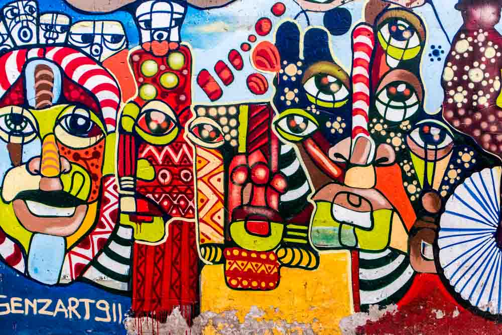 Street Art in Soweto South Africa