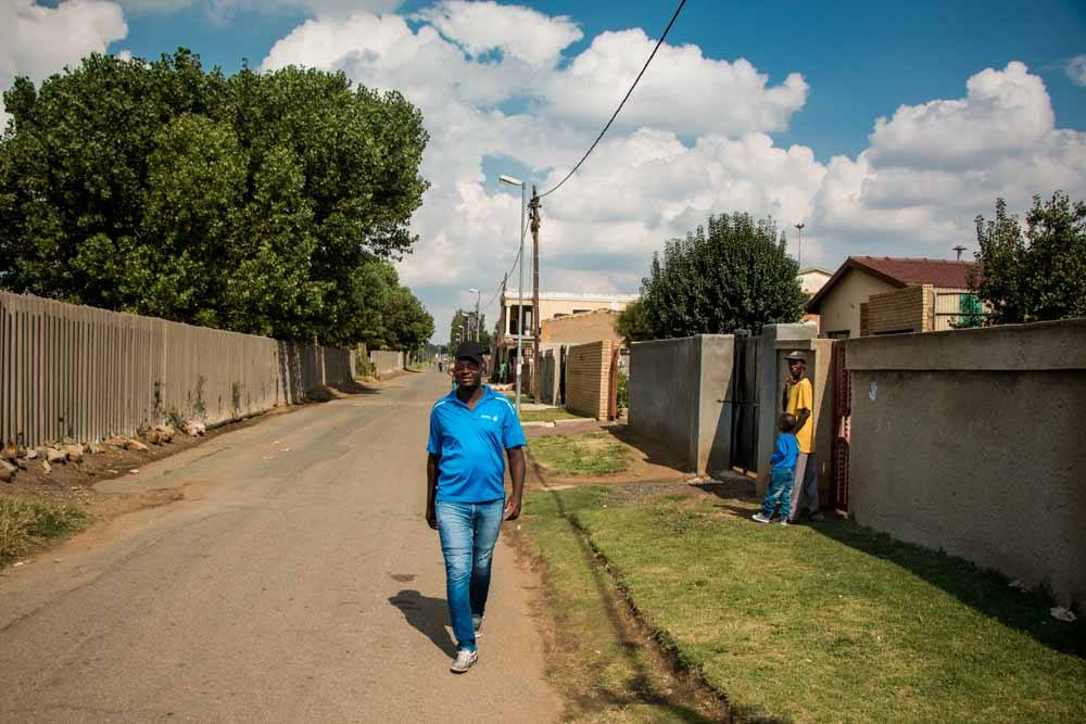 Street in Soweto South Africa