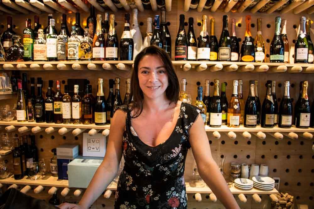 Laura Copil at VINO Wines + More in Bucharest Romania