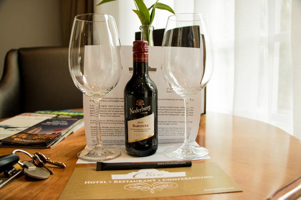 Welcome Wine - Clico Boutique Hotel