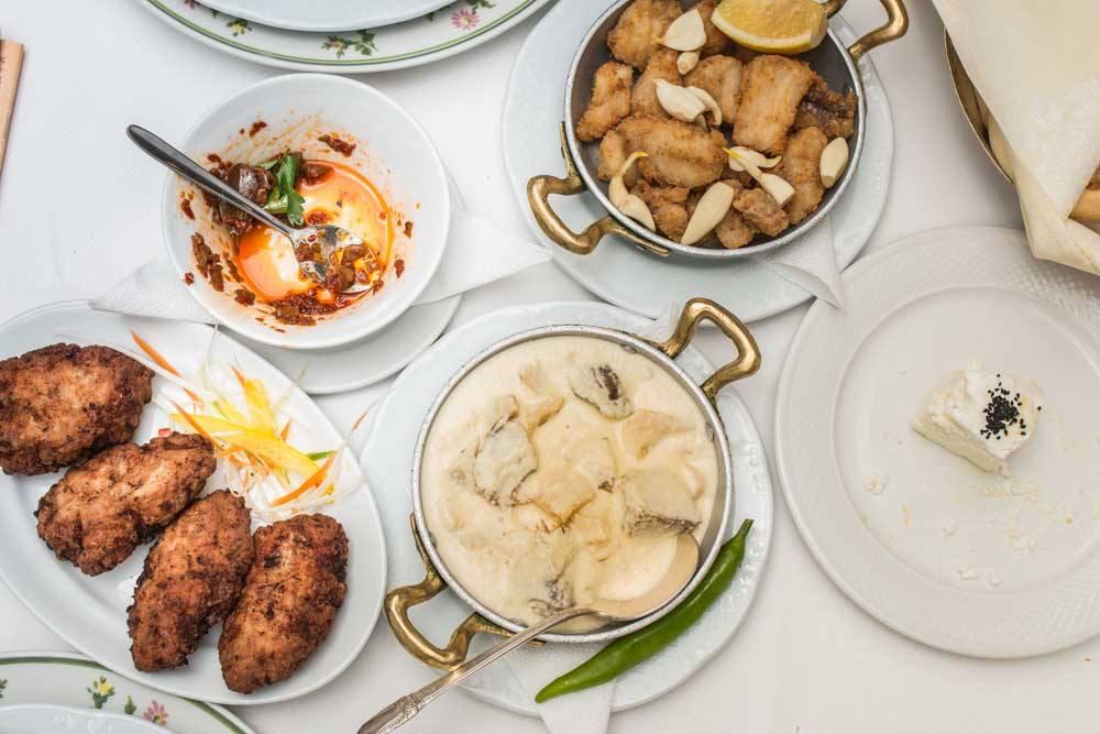 Lunch at Zexe Zahana in Bucharest Romania