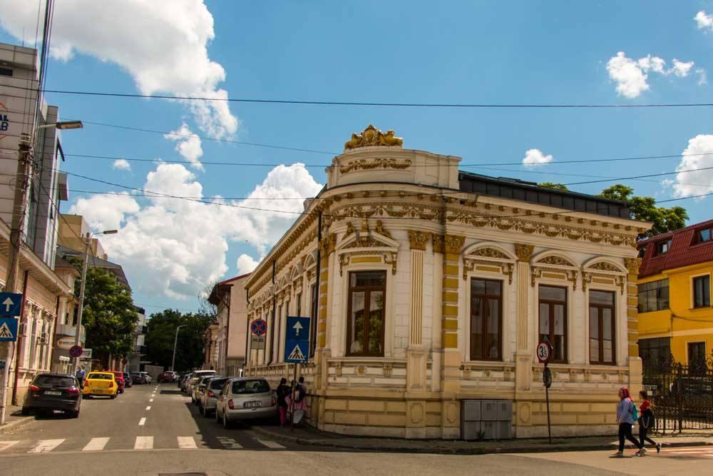 Building in Bucharest Romania