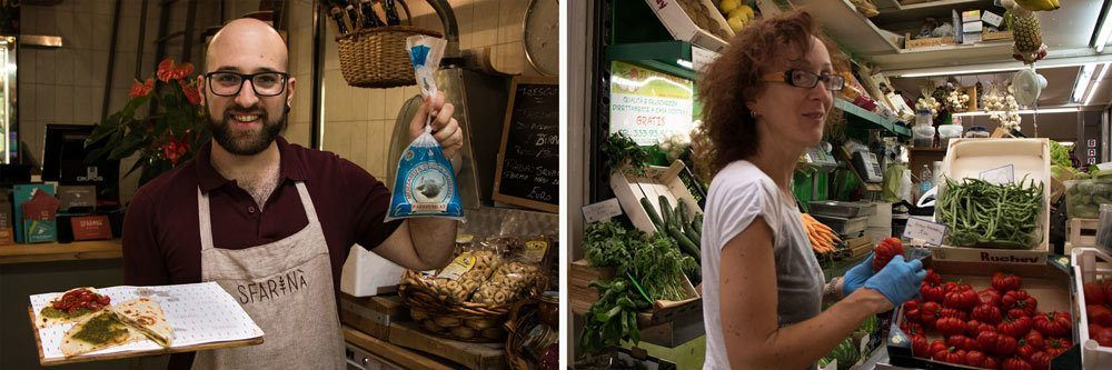 Mercato delle Erbe Vendors - Emilia Romagna Food Experiences
