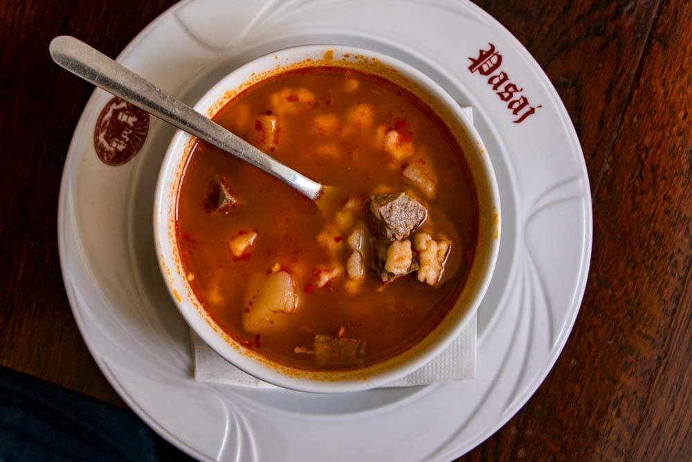Pasaj Soup - Traditional Romanian Food