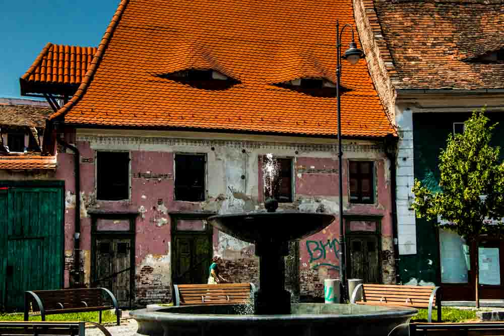 Sibiu Architecture - Traditional Romanian Food