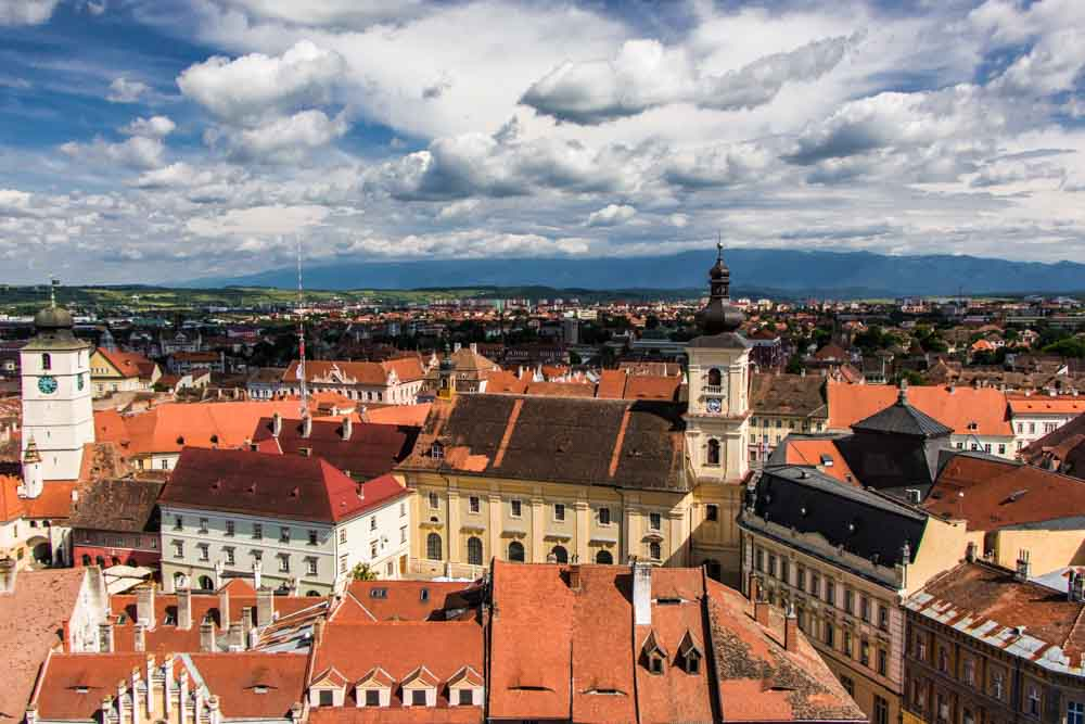 Sibiu Skyline - Traditional Romanian Food